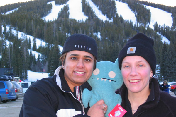 2003: Snowboarding with Ice Bat, Eldora, CO