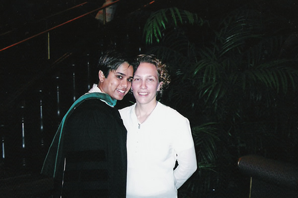 2004: Poonam's Med School Graduation, Chicago, IL