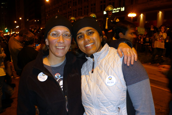 2008: Obama's Election Night Celebration, Chicago, IL