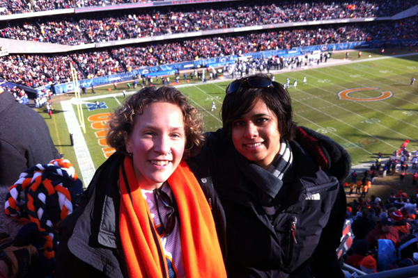 2011: Bears Game, Soldier Field, Chicago, IL