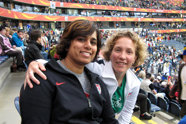 2011: Women's World Cup, Frankfurt, Germany